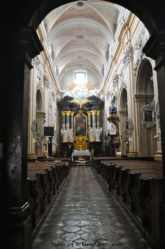 KRAKÓW - Skałką 'Kościół św. Michała Archanioła i św. Stanisława Biskupa i Męczennika'