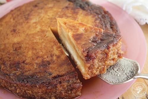 Tarta de almendras y tocinillo www.cocinandoentreolivos.com (20)