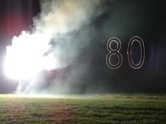 80 Jahre Citroen Traction Avant 2014 La Ferte-Vidame 647 Spectacle Laser et Pyrotechnique