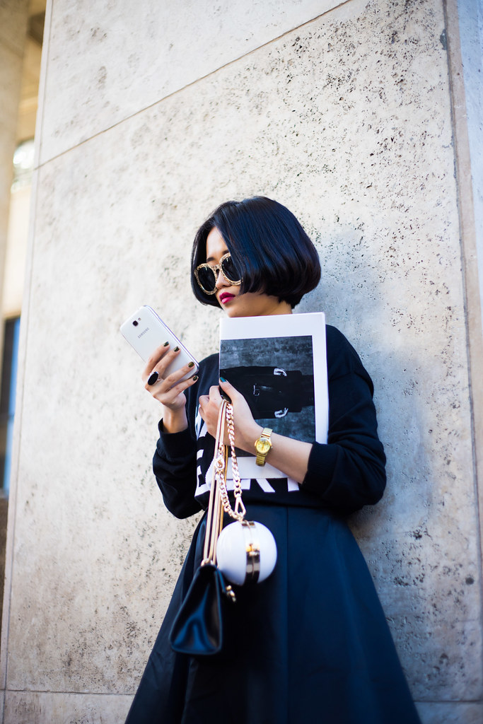 Street Style - Izzy, Paris Fashion Week