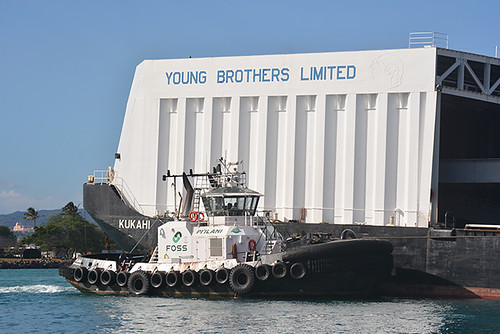 Young Brothers barge Kukahi