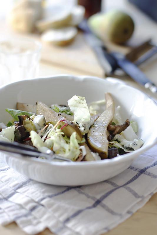 _MG_6194Ensalada de invierno, hongos, peras, gorgonzola y nueces