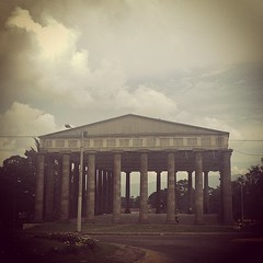 Templo a Minerva. #diosa #sabudiría #Minerva #wisdom #goddess #Monumento #monument #temple #Quetzaltenango #guatemala