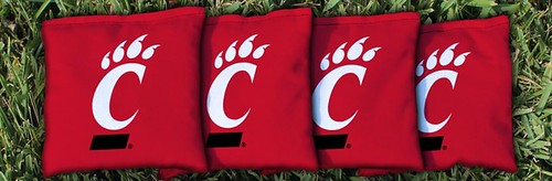 CINCINNATI BEARCATS RED CORNHOLE BAGS