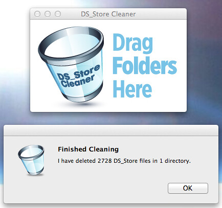 .DS_Store Cleaner
