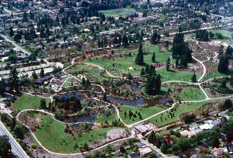 Pre-Maze VanDusen Gardens circa 1980