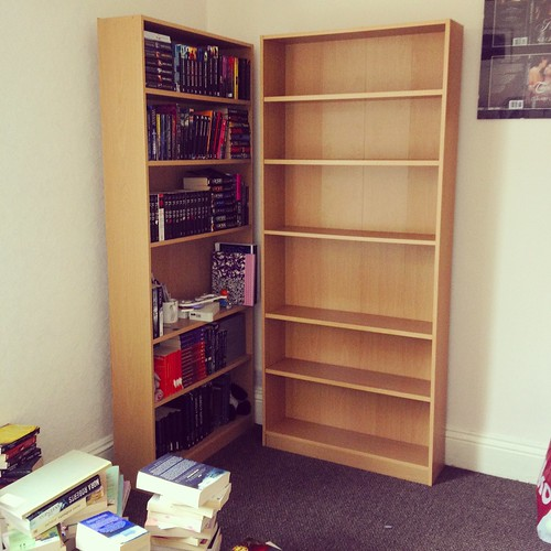 Re-arrange bookcase