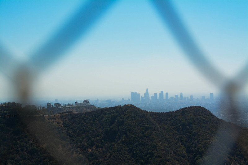 Griffith Observatory and L.A. Skyline