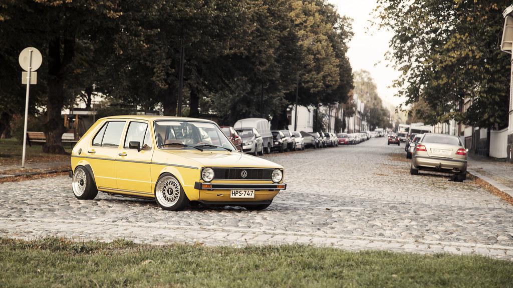 Tiku: VW Mk1 golf 5D 15414362025_0b59c99195_b