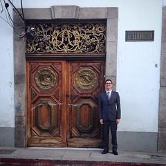 Guy next door. #door #MiniMe #suits #19thCentury #antique #Quetzaltenango #Gobernacion #Governor #latino