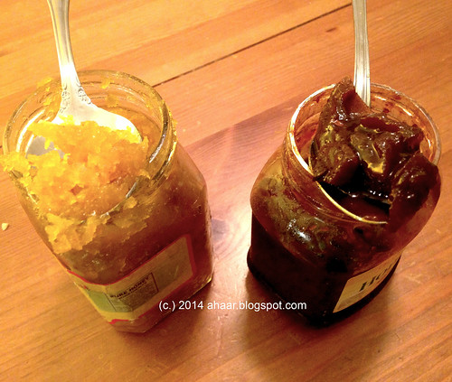 Sweet Mango pickle - the bengali way