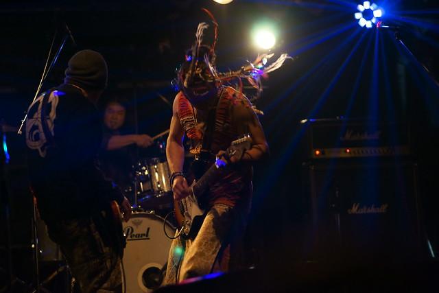 SPUTNIK KOMBINAT live at ShowBoat, Tokyo, 05 Oct 2014. 021