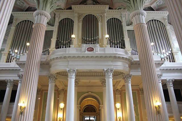 Ladegast-Eule-Orgel in der Nikoliakirche zu Leipzig