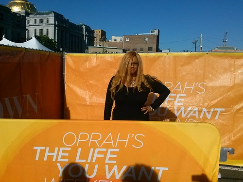 OPrah OPRAH'S The Life You Want Weekend Exclusive Breakfast Power Meet up & Celebrity Panel