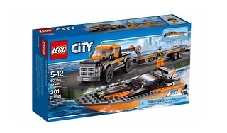 LEGO City 2015 : 60085 4×4 with Powerboat