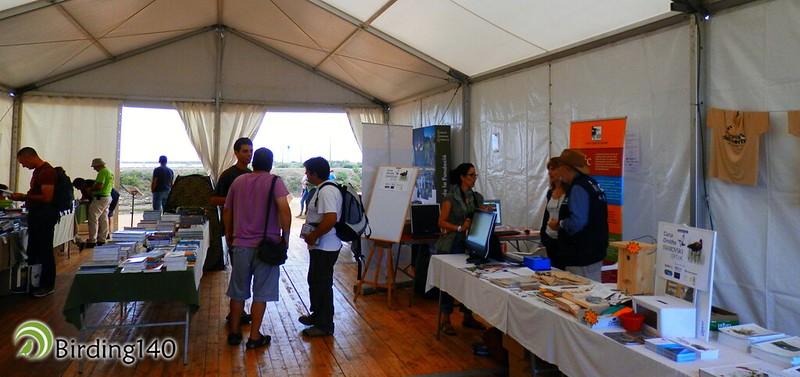 Organizers Delta Birding Festival tent