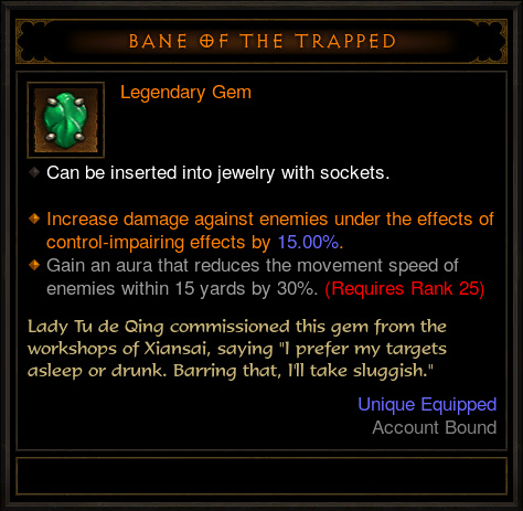 bane of the trapped