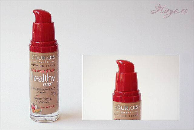 bote y dispensador healthy mix bourjois
