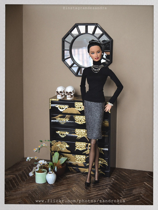 Carmen with MARCIA HARRYS DEBUT COLLECTION,