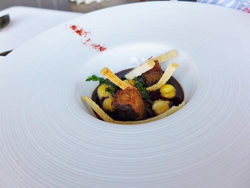 Restaurant Azurmendi chickpea stew