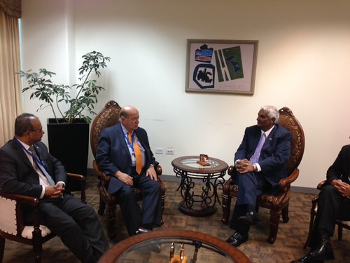 Secretary General Met with the Foreign Minister of Trinidad and Tobago