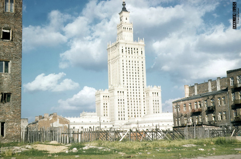 1958年华沙重建2
