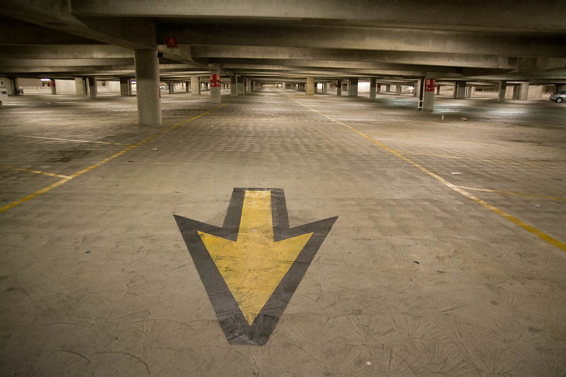 Disneyland Parking Garage