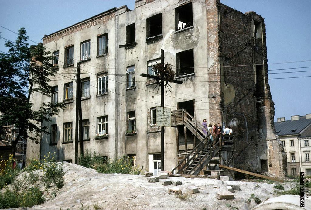1958年华沙重建4