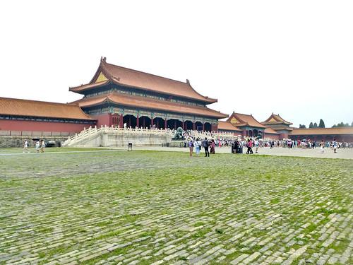 Beijing-Cité Interdite-Porte de l'Harmonie Suprême (1)