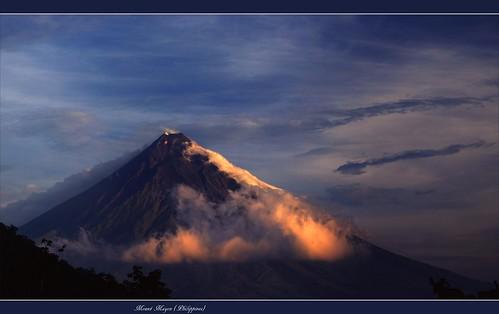 volcano philippines bicol luzon philippinen volcan vulkan albay mayonmayon