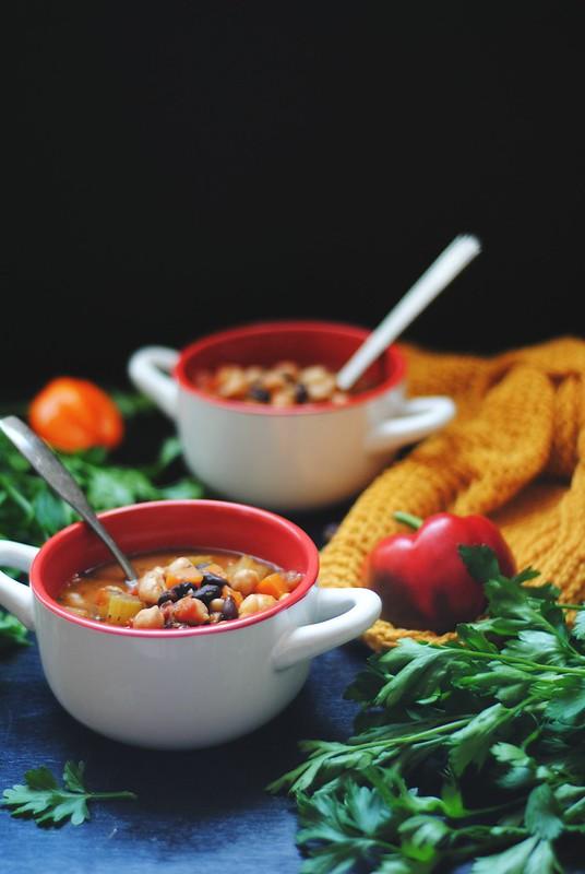 3 Bean Chili - vegan