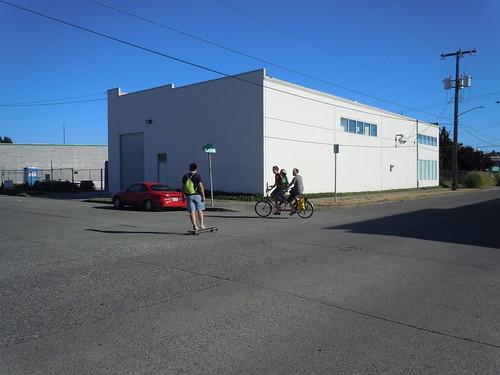 Biking and Skating to Ballard Breweries
