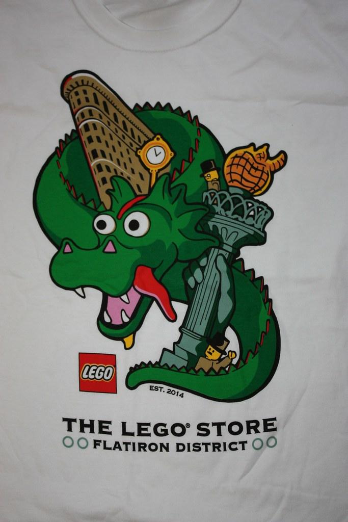 Lego Flatiron Store Opening Day T-Shirt   Lego Flatiron Stor