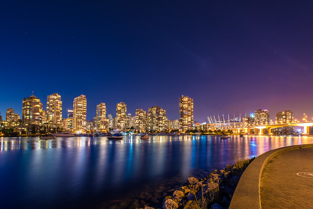 False Creek Seawall