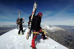 Lyžování ve výšce 8 000 metrů