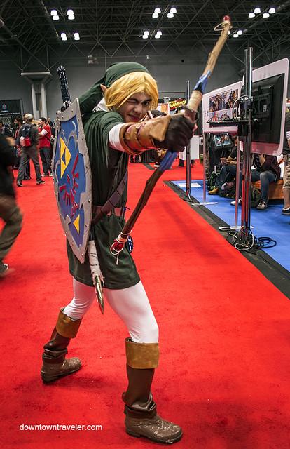 NY Comic Con 2014 Link Anime