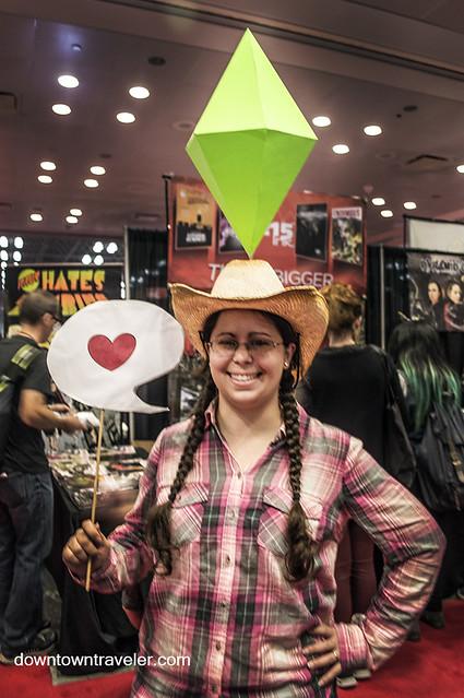 NY Comic Con 2014 Sims Character