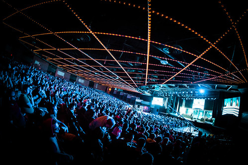 The Madison Square Garden Theater Was Packed For The Finals.