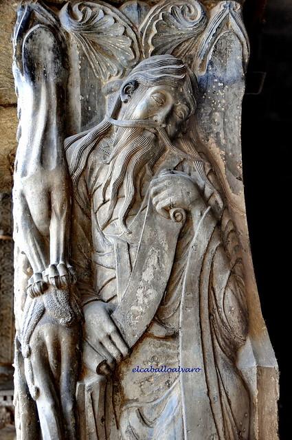 510 – Jeremías – Portal Sur - Abadía Saint Pierre – Moissac (France).