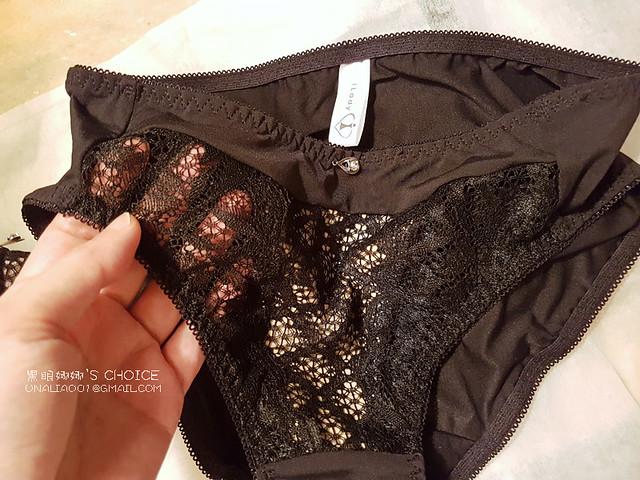 iLady法式精品內衣-闇夜天使三角褲lace