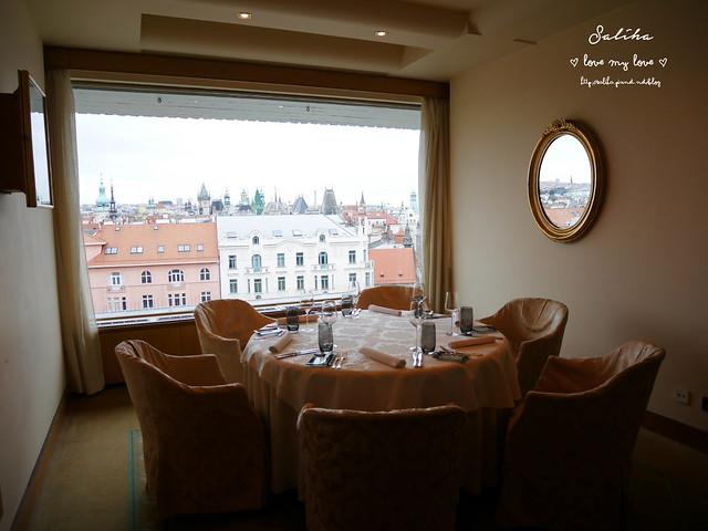 布拉格夜景景觀餐廳推薦洲際酒店晚餐 (8)