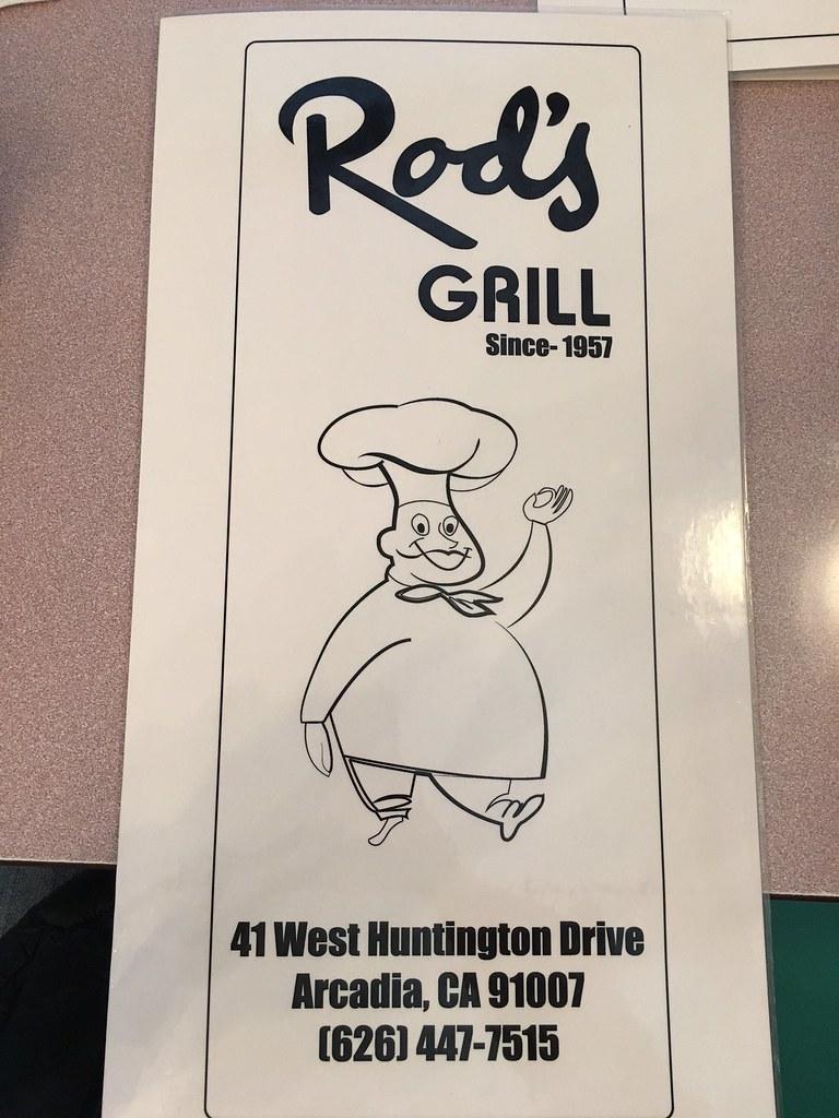 Rod's Grill Acadia CA - California Retro Roadmap Photos by Natalie Gould