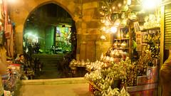 Souvenirs and lamps in Khan El-Khalili