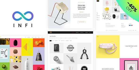 Infi Portfolio WordPress Theme free download