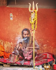 The color of uncomplicated existence ~ Varanasi