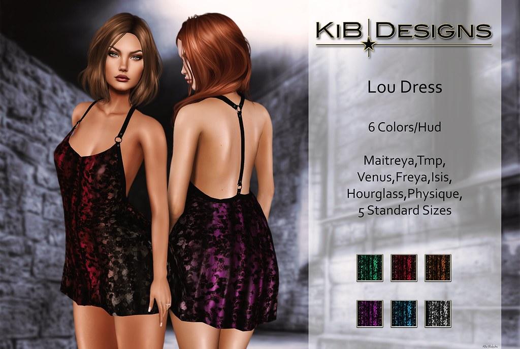 KiB Designs - Lou Minidress in The Darkness Event - SecondLifeHub.com