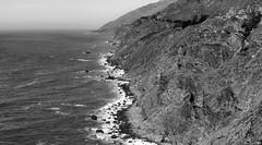 Big Sur Coast Detail II _ bw
