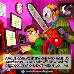Psychopath - Webcomic about web developers, programmers and browsers