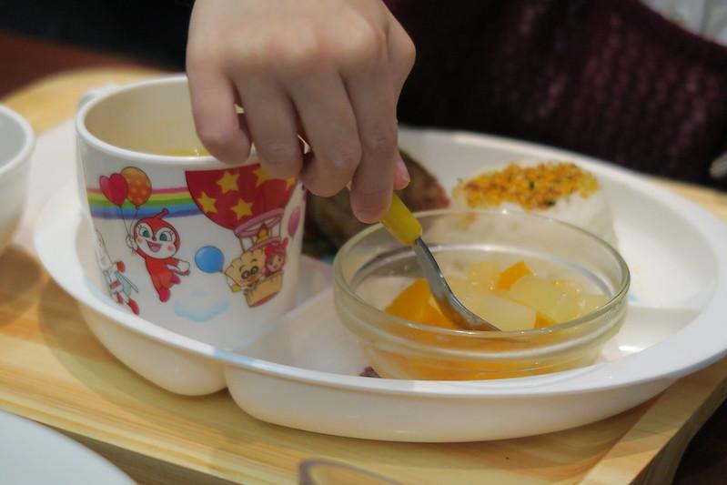 水果沙拉有芒果跟梨子,粉好吃