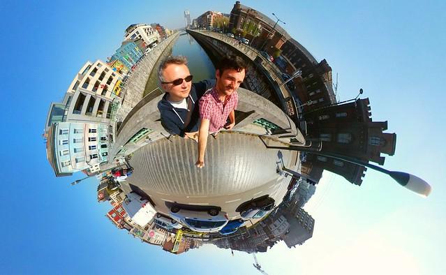 Our Little World - Brussels' canal #city #brusselsgrandplace #earth #gear360 #fisheye #belgium #benheine #littleworld #aroundtheworld #photography #landscape #nofilter #benheineart #monuments #belgique #belgium #planet #inception #upsidedown #music #scien